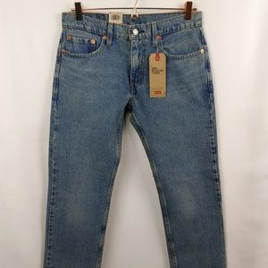 Levis Mens 502 Regular Taper Stretch Jeans 29x30
